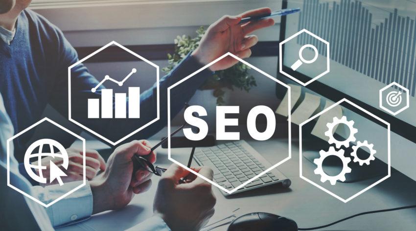 SEO Search Engine Optimization concept, ranking traffic on websi